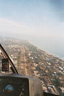 Aerial View of Leucadia from Helicopter