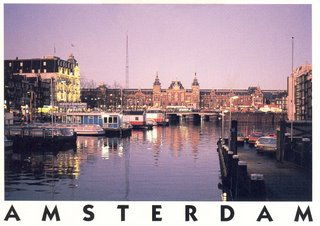 Postcard I bought in Amsterdam