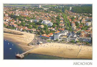 Postcard I bought in Arcachon