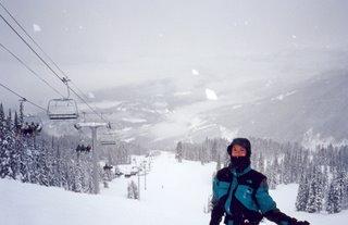 Mary Ann on Blackcomb Mountain
