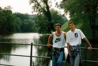 Roberto & Marcio at Kastellet