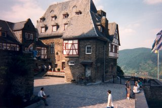 Our Castle Hostel in Bacharach