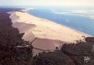 Postcard of La Dune De Playa we visited