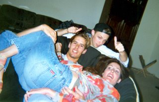 Noah, Allison & Greg at house