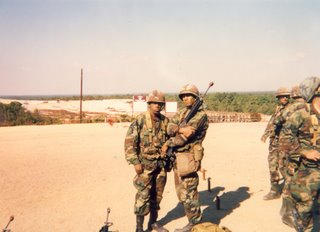 Platoon Leader and Assistant Platoon Leader for 3rd Platoon, Alpha Company (A-3-26)
