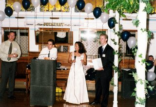 Announcing Awards at 10 Year Reunion