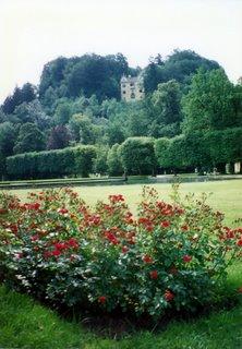 The gardens at Hellbrunn
