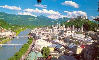 Postcard I bought in Salzburg