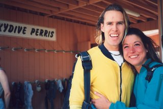 Noah & Mary Ann after skydiving