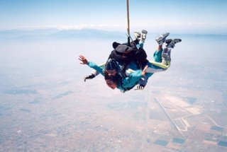 Mary Ann skydiving in Perris