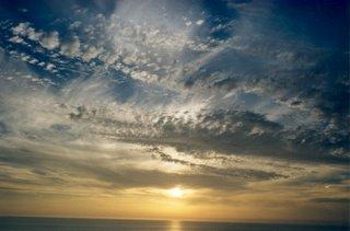 Sunset at Beacons Beach