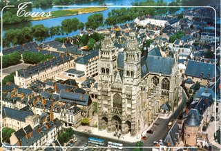 Postcard I bought in Tours