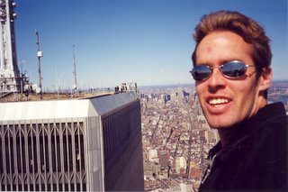 Noah at top of World Trade Center
