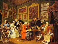 The Marriage Contract by Hogarth