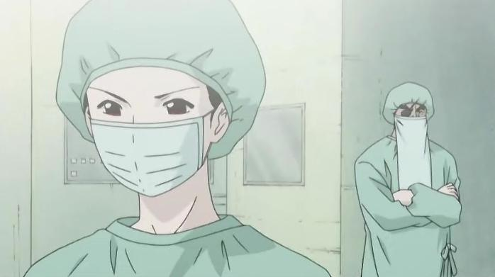 Image result for before go to operation theater anime
