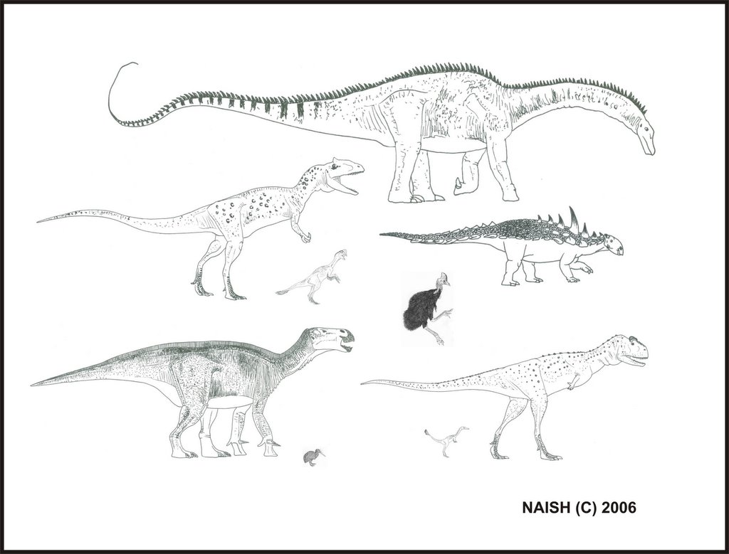 Darren Naish Tetrapod Zoology Cryptic Dinosaur Diversity Real