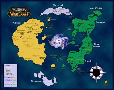 Nogg aholic why wow is a bad game reason 8 a concept of the world map for world of warcraft gumiabroncs Image collections