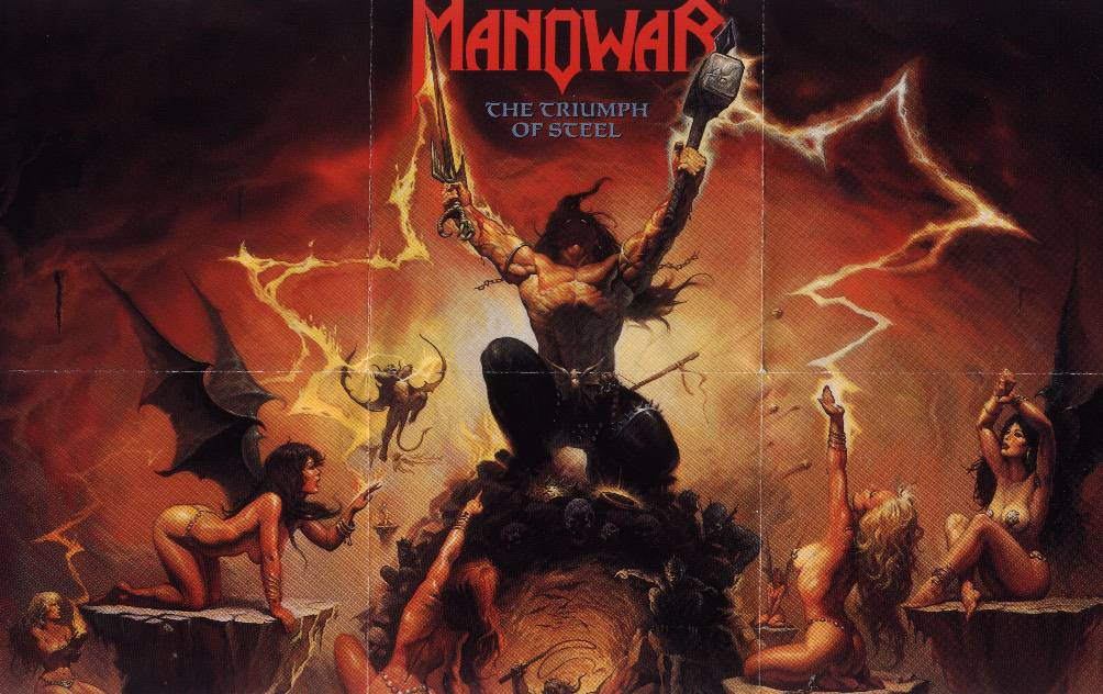 Manowar - Another Glory Ride In '92