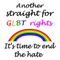 Another straight for GLBT rights; it's time to end the hate. Design copyright © 2006 by Katharine O'Moore-Klopf.
