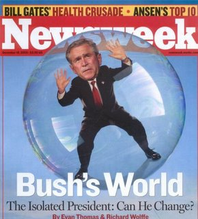 Bush's World (copyright © 2005 by Newsweek)