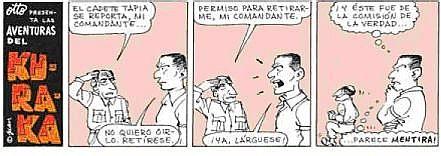 Tira publicada en EL OTORONGO
