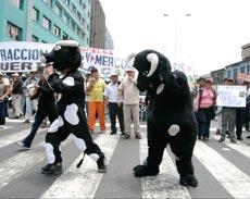 protesta CONVEAGRO