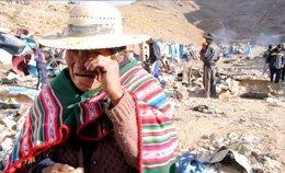 Masacre de mineros en Huanuni, Bolivia