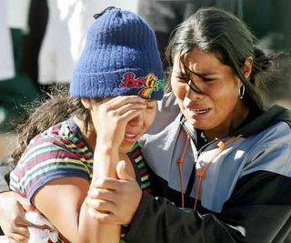 Muerte de mineros en las protestas de Huanuni