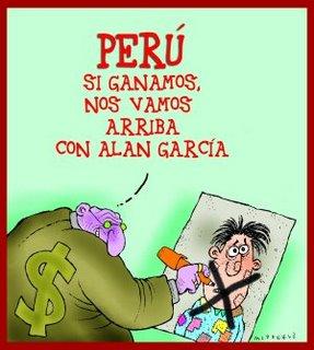 Caricatura de McDonald publicada en el portal REBELION.ORG