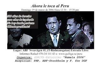 Ollanta y Chavez