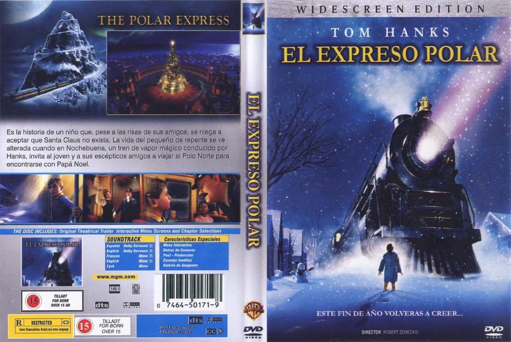Dvd final el expreso polar for Expreso polar