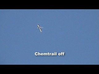 Chemtrail tanker off...