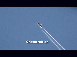 Chemtrail tanker on...