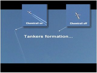 Tankers formation