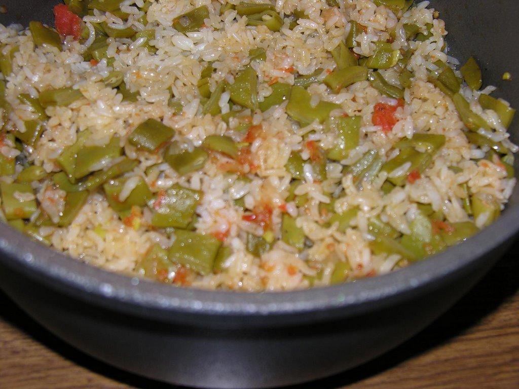 Kuru Fasulyeli Pirinç Pilavının Yapılışı