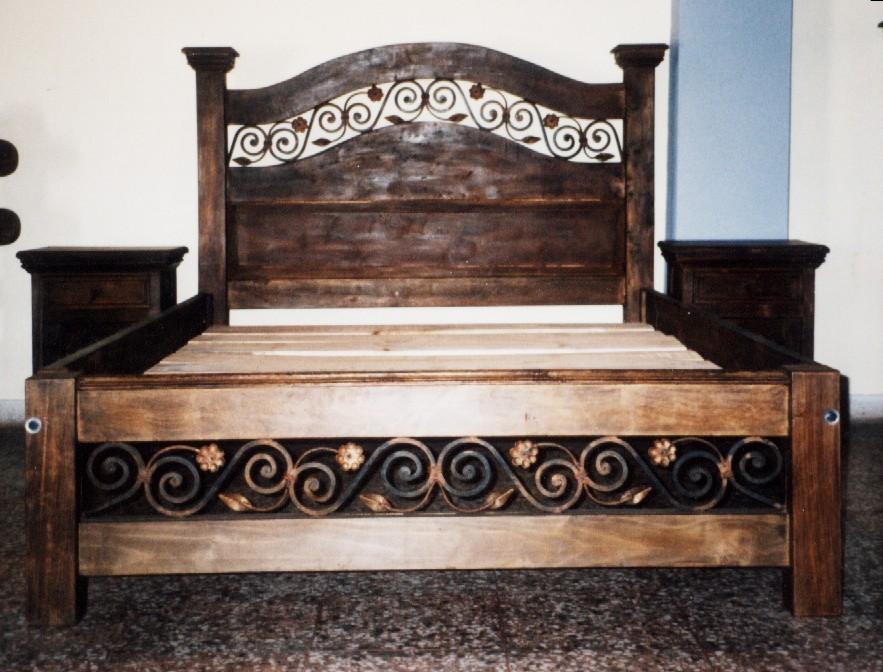 La carpinteria muebles rusticos espa oles for Muebles vanitorios rusticos