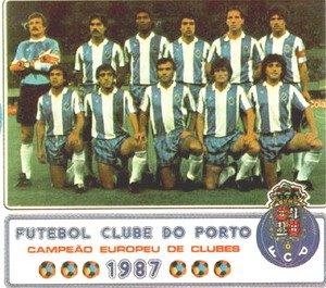Fc Porto Final da Taca dos Campeões - Equipa - Vienna 1997