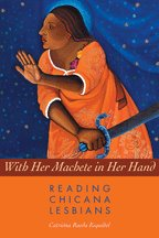 Book Cover for WITH HER MACHETE IN HER HAND by Catriona Rueda Esquibel