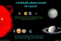 Comparison of 55 Cancri system and our own