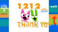 A million thank you web site