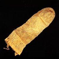 World's oldest condom.
