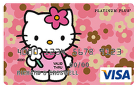 Hello Kitty visa credit card now available