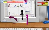 An online game called Fight Man