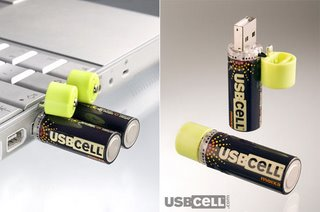 USB batteries.