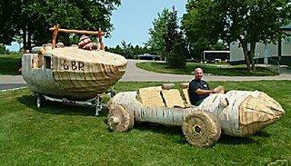 Log car.