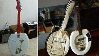 Toilet Guitar.