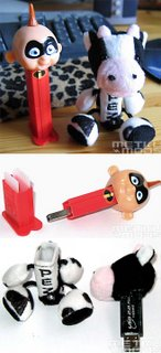 DIY USB sticks.