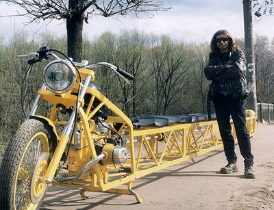 World's longest bike.