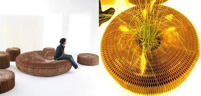 Paper softseating.