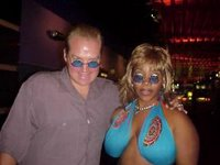 hottie from flava flav show and breasts
